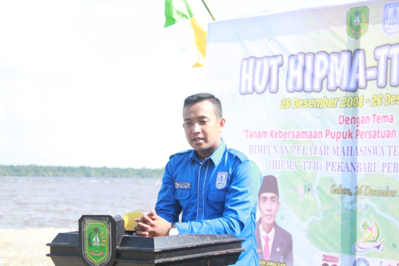 Ketua Himpunan Mahasiswa Kecamatan Tebing Tinggi Barat (Hipma-TTB), Sutrisno