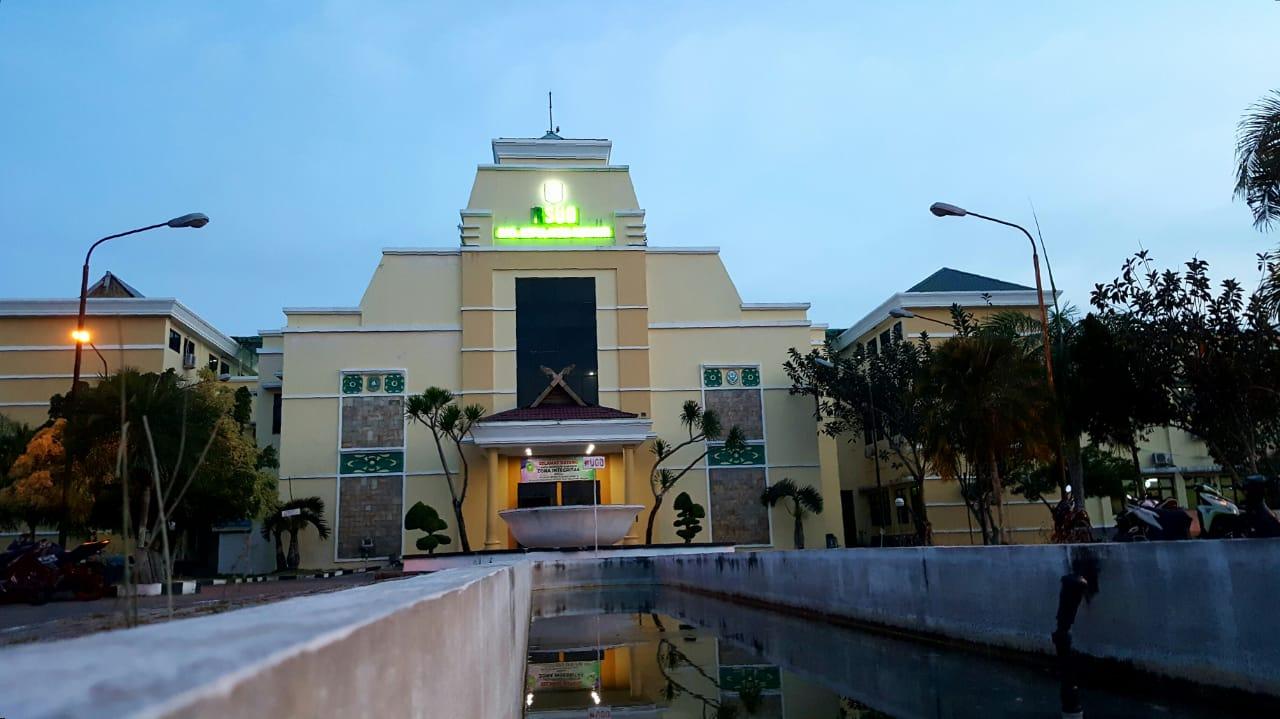 Tampilan depan RSUD Kabupaten Kepulauan Meranti