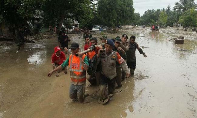 Banjir Kabupaten Luwu Utara.