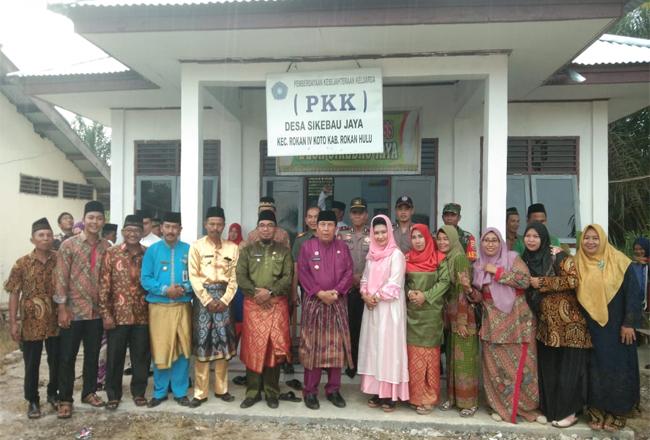 Bupati Sukiman menghadiri Pengajian Akbar Nahdatul Ulama (NU) MWC Rokan IV Koto dan MWC Pendalian IV Koto.