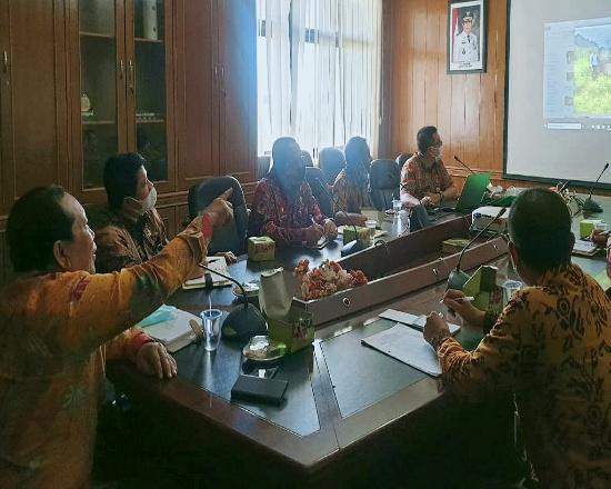 Bupati Sukiman rapat bersama TPBD Rohul menindaklanjuti hasil rakor bersama Kemendari terkait tapal batas Rohul- Kampar