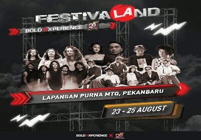 Festivaland Pekanbaru.