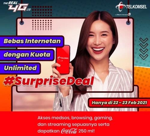 Paket Internet Unlimited Telkomsel