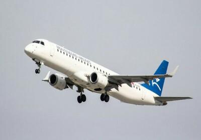 Ilustrasi pesawat Montenegro Airlines