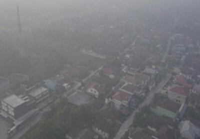 Asap karhutla Riau potensi masuk ke Malaysia dan Singapura.