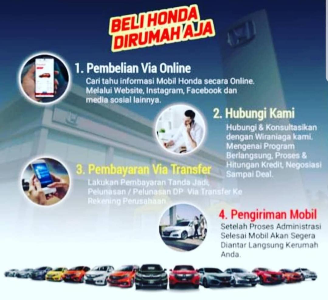 Program Beli Honda di Rumah Aja.