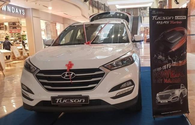 Pameran Hyundai di Mal Ska Pekanbaru