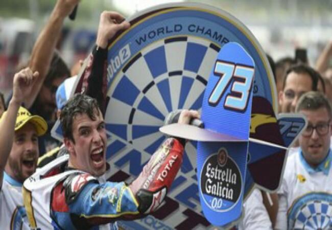 Alex Marquez berhasil meraih gelar juara dunia Moto2 2019.
