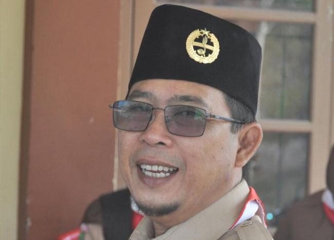 Ir Ahmad Junaidi, Ketua Harian Kwarcab Inhil dan juga Anggota DPRD Inhil.