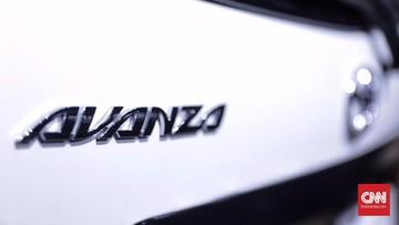 Logo Toyota Avanza. Foto: CNN Indonesia