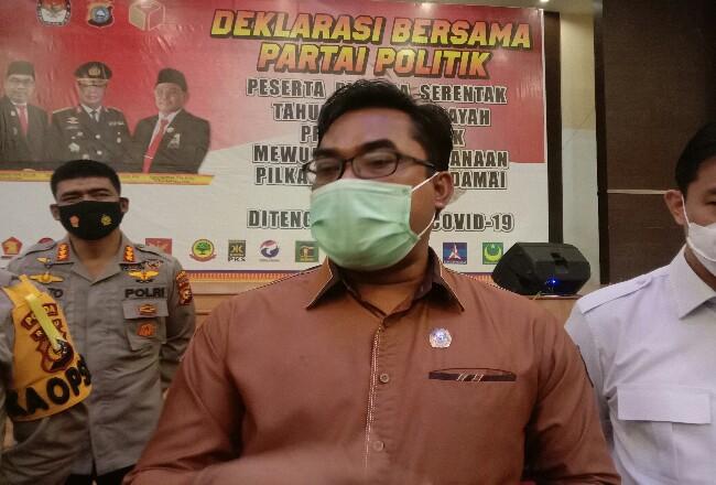 Ketua KPU Riau, Ilham Muhammad Yasir