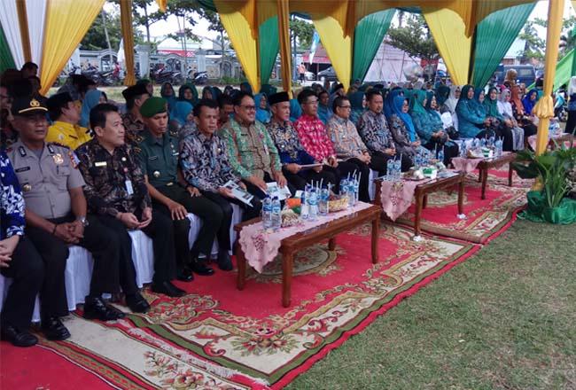 Wakil Gubernur Riau Edy Natar Nasution menghadiri Harganas ke-XXVI tingkat Provinsi Riau di Kabupaten Kampar.