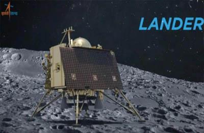 Vikram Lander dijadwalkan menapaki Bulan pada 7 September 2019 dini hari, sekitar pukul 01.00 waktu India atau 02.00 WIB. Foto: ISRO