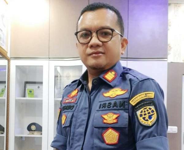 Kepala UPT PKB Dishub Pekanbaru M Nasri SH