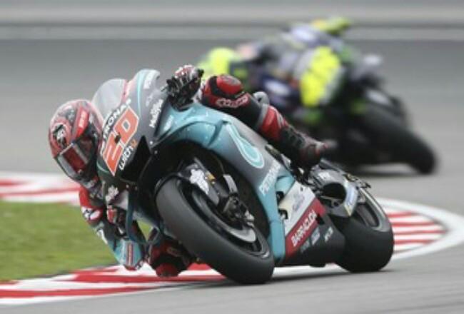 Fabio Quartararo pole position di kualifikasi MotoGP Valencia.