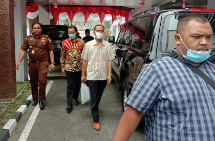 Terpidana ZJ dieksekusi di Rutan Sialang Bungkuk