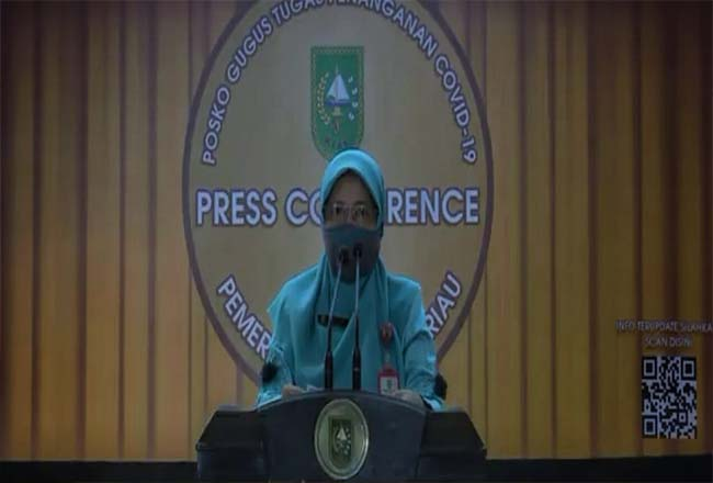 Kadiskes Riau Mimi Yuliani Nazir