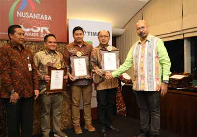 PT Pertamina EP mendapat apresiasi khusus di bidang Corporate Social Responsibility.