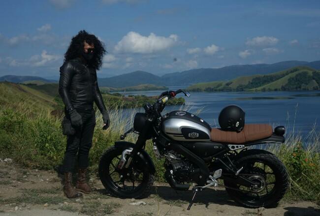 Motor XSR 155 sukses trouring hingga titik paling Timur Indonesia.