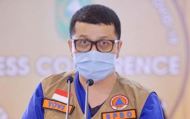 Juru Bicara (Jubir) Satgas Covid-19 Riau, dr Indra Yovi