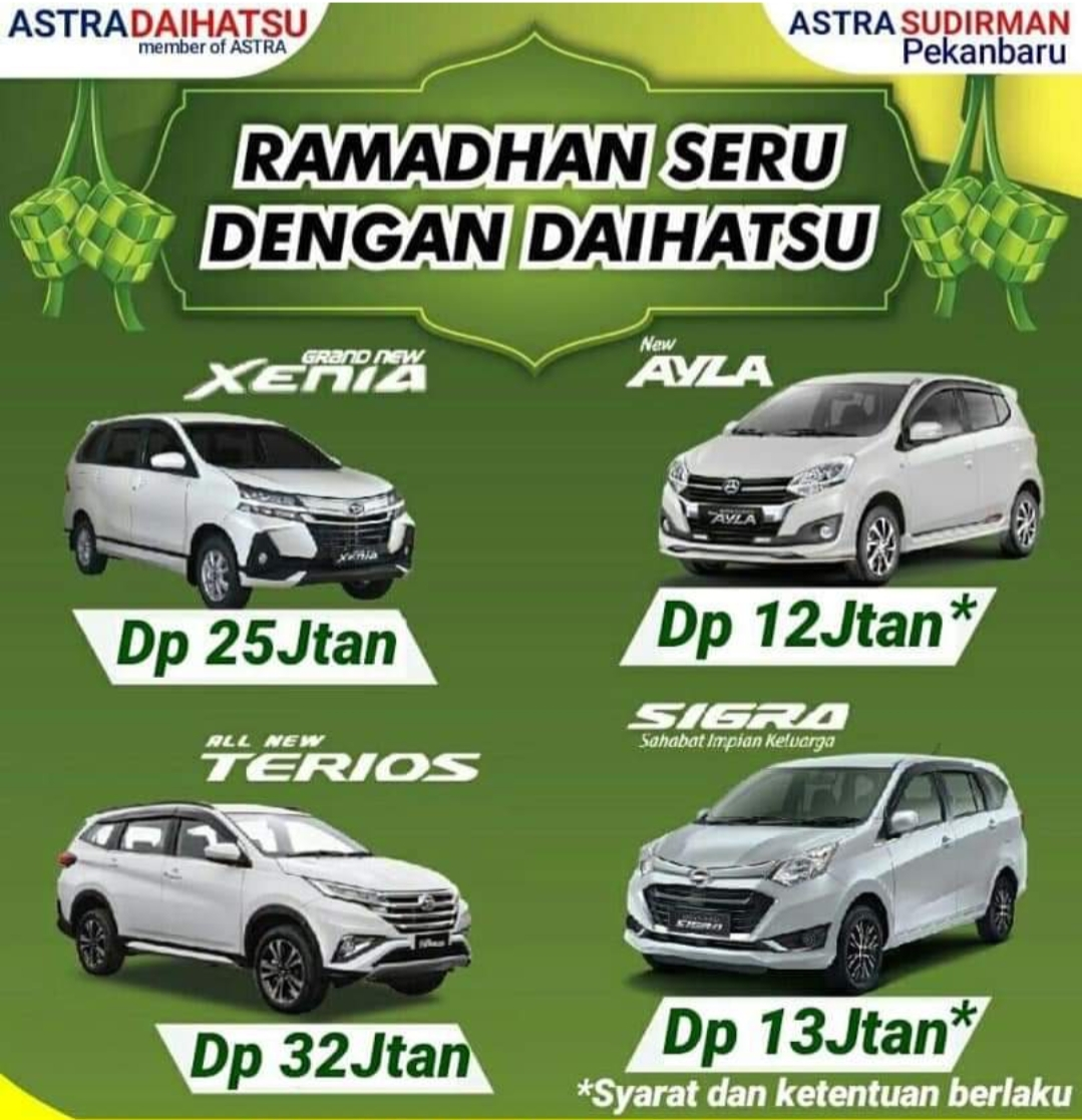 Ilustrasi Ramadan Seru dengan Daihatsu