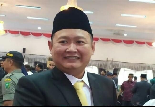 Ketua Semantara DPRD Inhu Daniel Eka Perdana