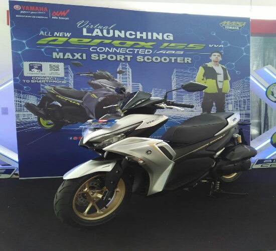 Yamaha All New Aerox 155 Connected