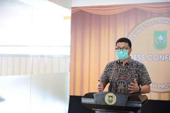 Jubir Satgas Penangan Covid-19 Riau, Indra Yovi