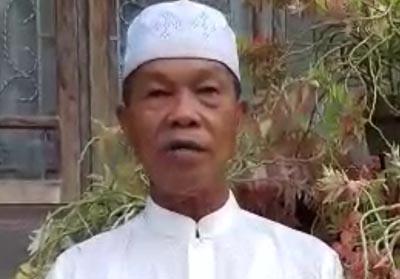 Ketua Forum Kerukunan Umat beragama (FKUB) Kabupaten Indragiri Hulu (Inhu) H Lasmi Ismael