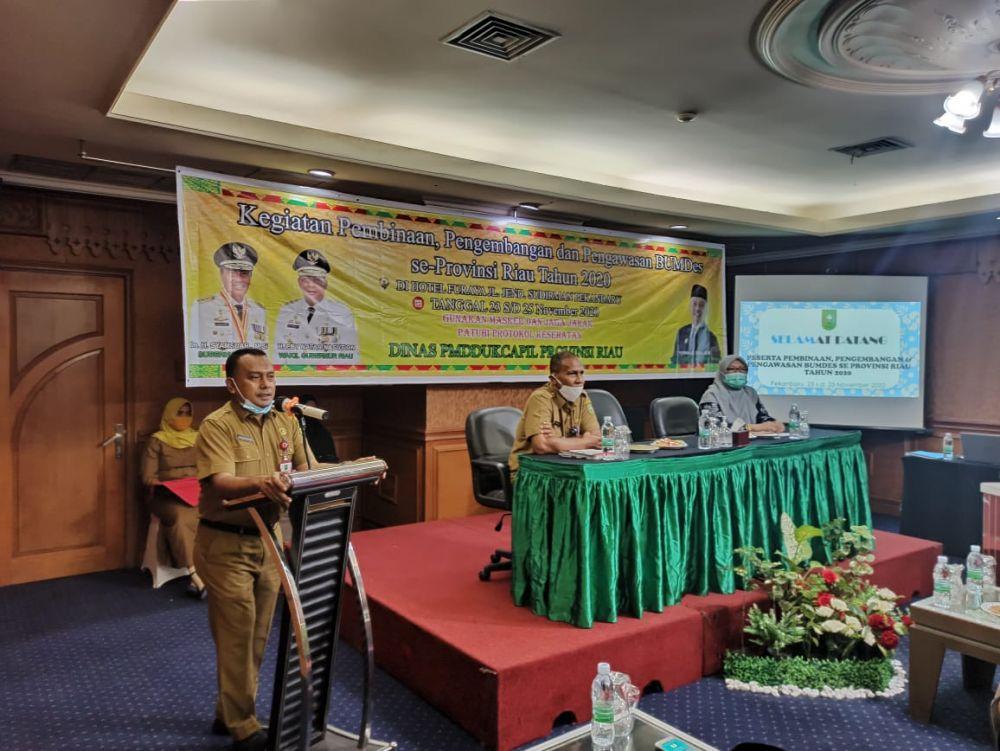 Kegiatan pembinaan, pengembangan dan pengawasan Badan Usaha Milik Desa (BUMDes).