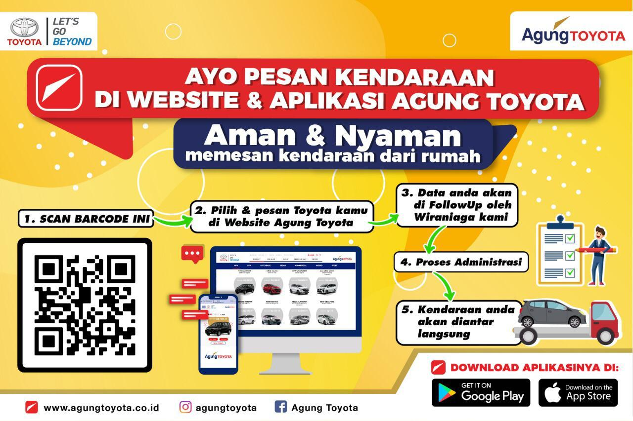 Agung Toyota menggiatkan digital marketing, medsos dan telemarketing.
