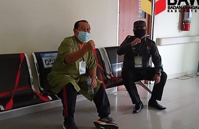 Bapaslon H.Sukiman - Indra Gunawan, Hafith Syukri- Erizal, jalani pemeriksaan kesehatan RSUD) Arifin Achmad Pekanbaru, menyusul pasangan Hamulian- M.Sahril Topan pada 10- 11 September 2020