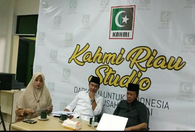 KAHMI gelar diskusi dengan mengangkat Tema Transisi Blok Rokan Riau Mendapatkan Apa?