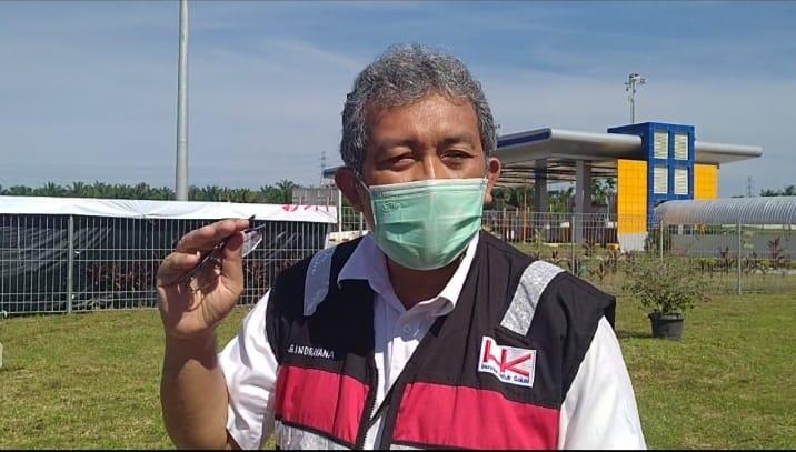 Branch Manager Tol Pekanbaru-Dumai Indrayana.
