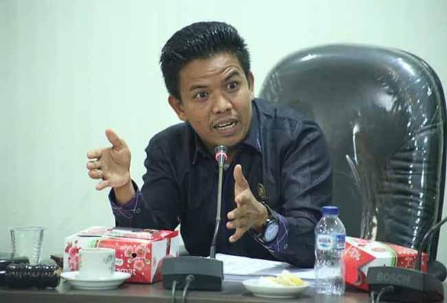 Ali Imran anggota DPRD Rohul dari Fraksi Nasdem.
