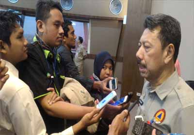 Kepala BPBD Riau Edwar Sanger