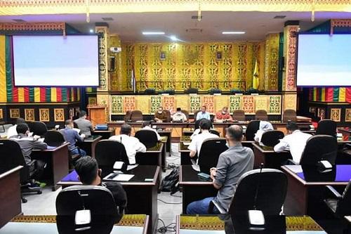 Suasan Saat Hearing Komisi IV dengan 4 Kontraktor.
