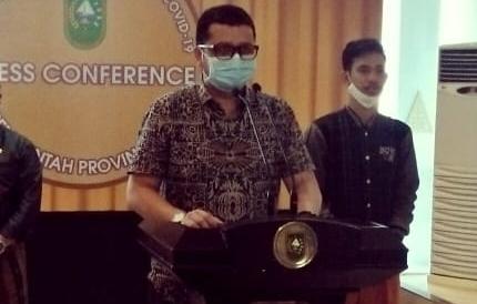 Juru Bicara (Jubir) Penanganan covid-19 Riau, dr Indra Yovi.