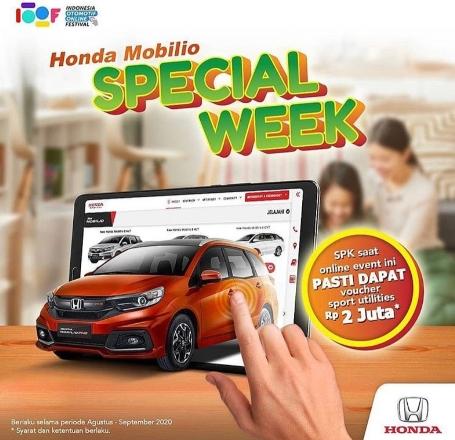 Honda Mobilio Special week