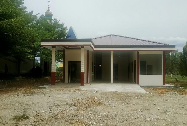 Pembangunan fisik gedung PSC 119 Rohul kini sudah tahap finishin, dibangun melalui bantuan DAK Tahun 2020.