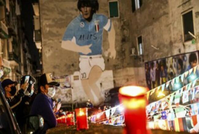 Diego Armando Maradona. Foto: CNNIndonesia