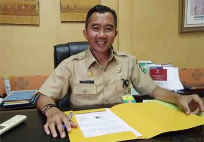 Kadis Pariwisata Kabupaten Siak Fauzi Asni