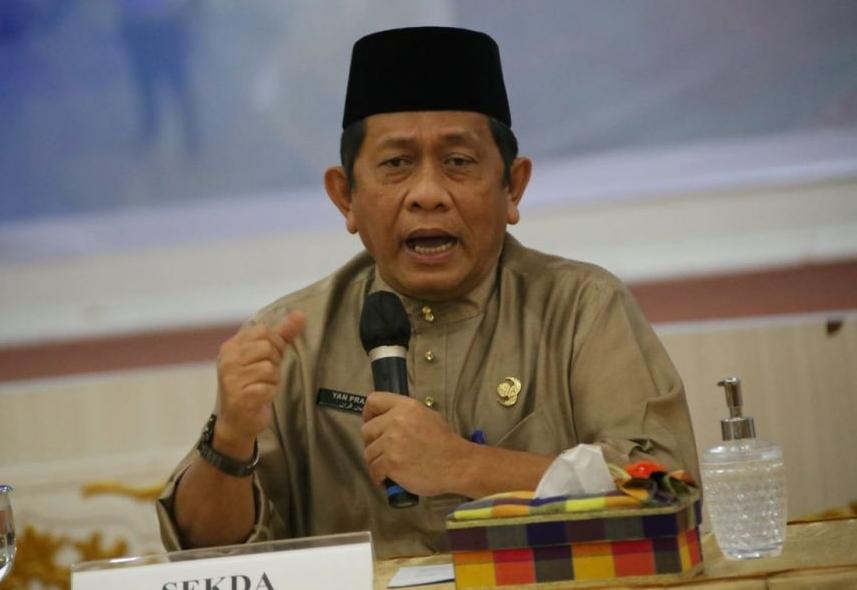 Sekretaris Daerah Provinsi (Sekdaprov) Riau, Yan Prana Jaya Indra Rasyid