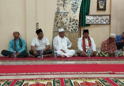 Wakil Bupati (Wabup) Rokan Hilir (Rohil) Drs H Jamiludin melakukan Safari Ramadan di Kepenghuluan Pematang Ibul