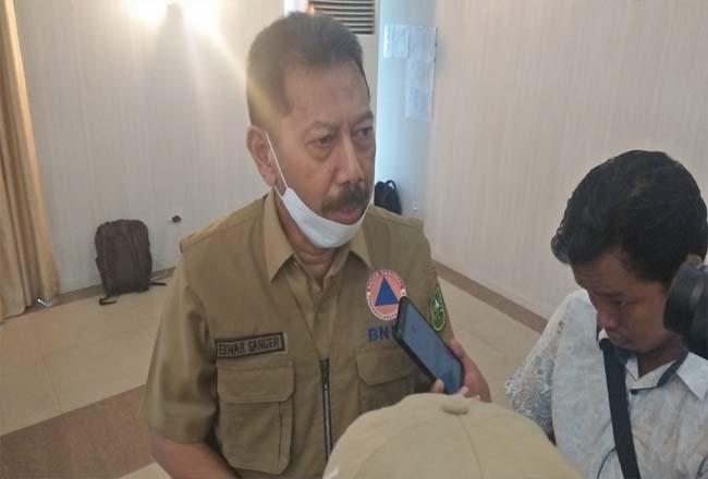Kepala BPBD Riau Edwar Sanger.
