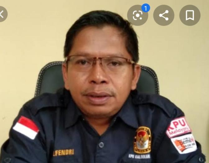 Ketua KPUD Rohul, Elfendri