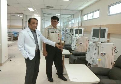 RSUD Arifin Achmad siap menjadi RS Pusat Ginjal di Riau.