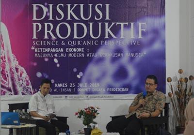 Diskusi Produktif yang digelar oleh Pusat Sumber Belajar Dompet Dhuafa Pendidikan (PSB DD Pendidikan)