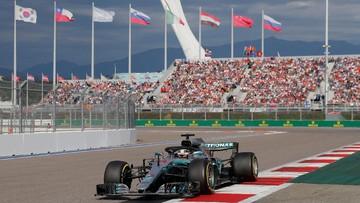 Lewis Hamilton menang F1 GP Rusia. Foto : Cnnindonesia