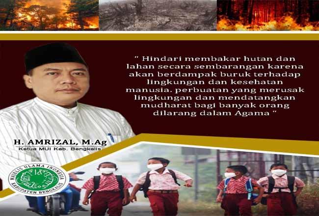 Ketua MUI Kabupaten Bengkalis, H Amrizal